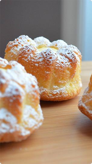 Couronnes citron crême gâtelière